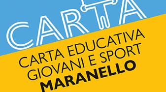 Carta Educativa Giovani e Sport
